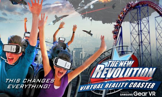 Virtual Reality Roller coaster ride