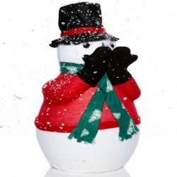 Snowman snow machine