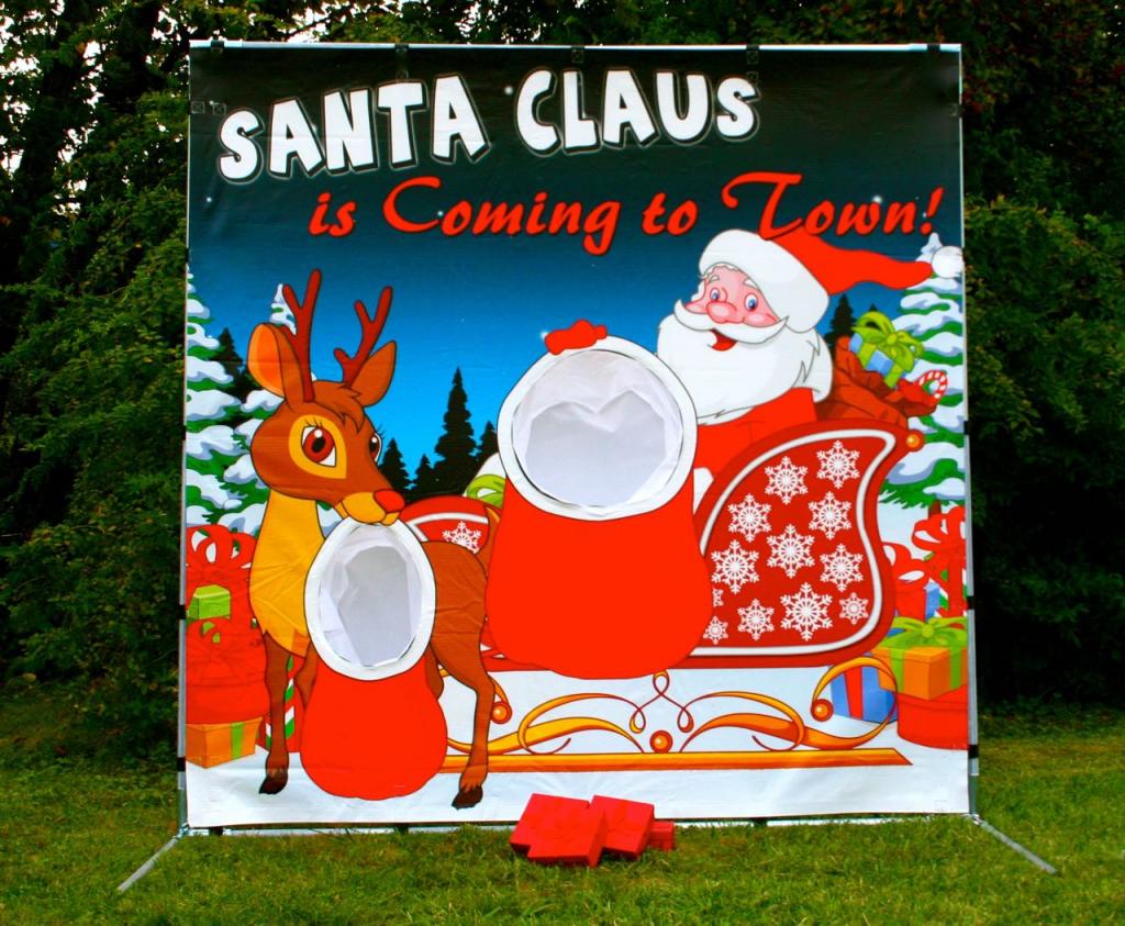 Santa Frame Game