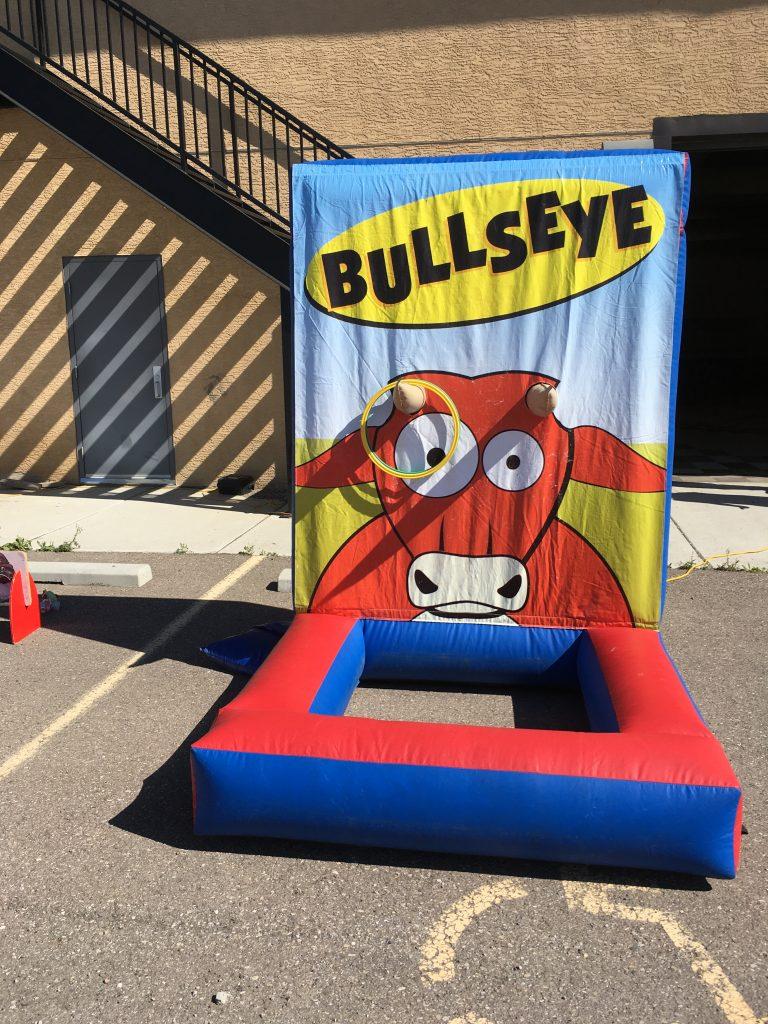 Bullseye Frame Game