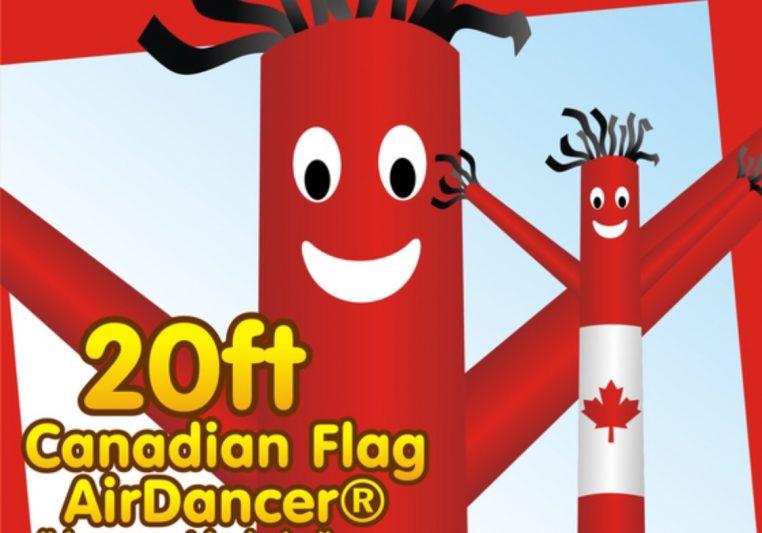 Canada Day Air Dancer Rentals