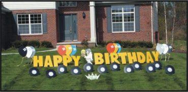 Elvis Happy Birthday Yard Greeting