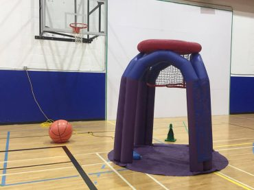 Super size Monster basket ball for rainy school sports days