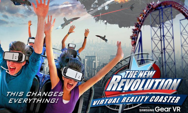 Virtual Reality Roller coaster ride